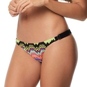 PilyQ Clara Adjustable Slider Mix Up Swim Bottoms